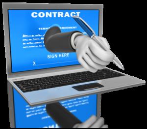 online contract